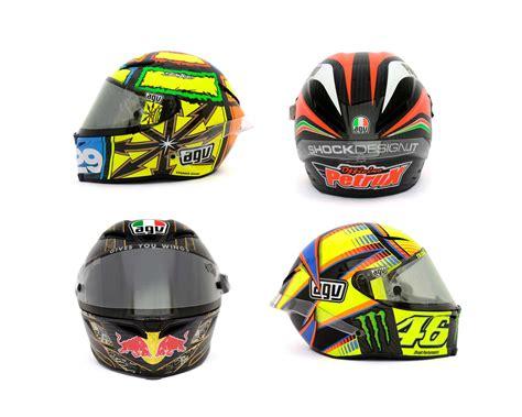 Helm Agv Pista Photos The Five Agv Pista Gp Helmets In Motogp Asphalt