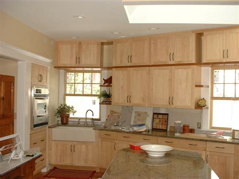 light maple shaker cabinets have the natural maple kitchen cabinets for your home my