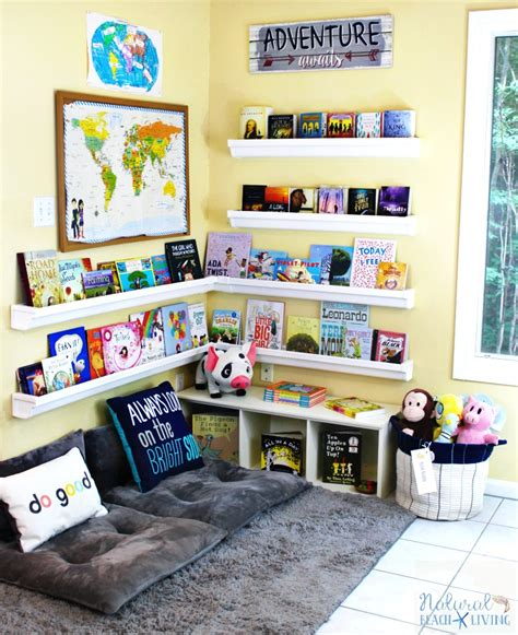 how to set up a reading nook plus diy
