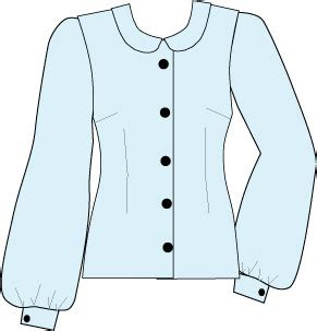 boat neck blouse drawing pattern designs using basic styling details