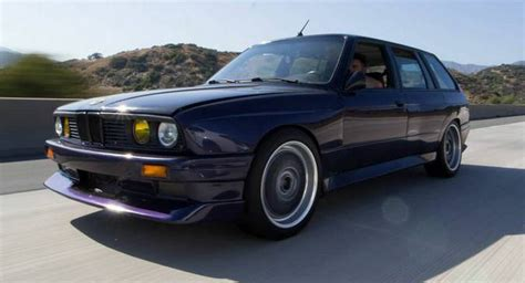 Bmw M3 Wagon This Bmw E30 Wagon Has Box Flares And A Lively E46 M3