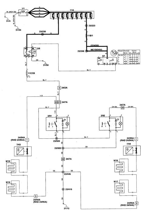 1998 volvo s70 wagon wiring diagrams wiring diagrams