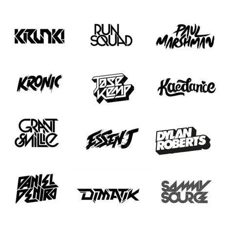 font design logo maker die besten 17 ideen zu dj logo auf pinterest musik logo