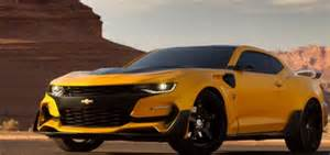 rear of new bumblebee chevrolet camaro spied gm authority