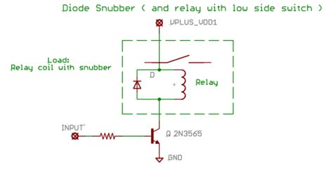diode relay wiring diagram basic circuit building blocks opencircuits