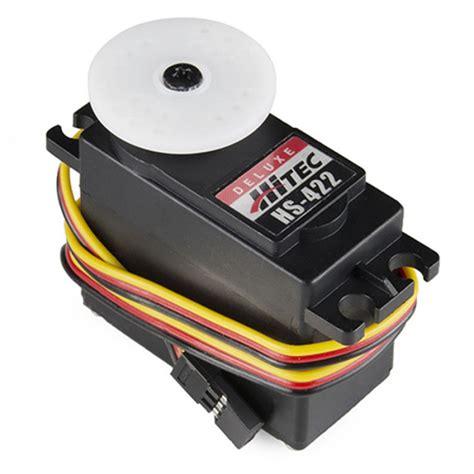 rc servo motor circuit hs 422 servo motor robotshop