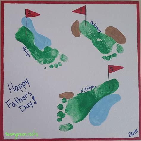 S Day And Craft Diy Handprint And Footprint S Day Craft
