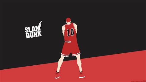 slam dunk anime wallpaper slam dunk minimalist by rmck2 on deviantart