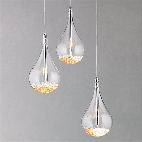 Buy John Lewis Sebastian 3 Light Drop Ceiling Light