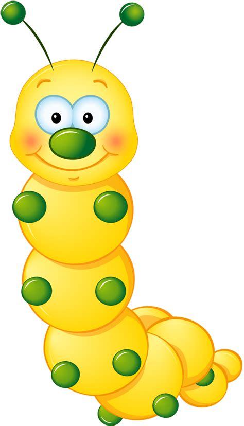 yellow cute caterpillar clipart rovarok lepk 233 k bugs