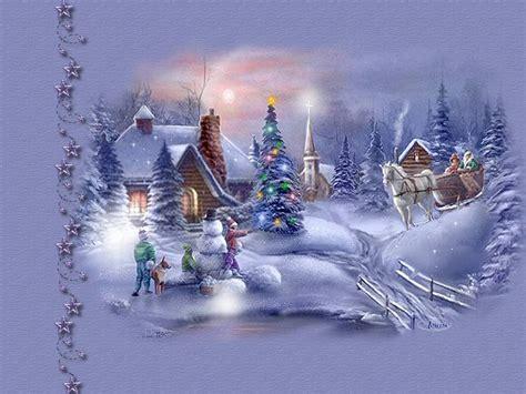 imagenes bonitas de paisajes de navidad postales de navidad