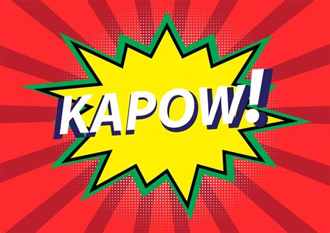 kapow poetry comix books kapow and other comic book words oxfordwords