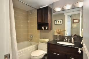 Condo Bathroom Ideas Condo 1 Contemporary Bathroom Vancouver By Le