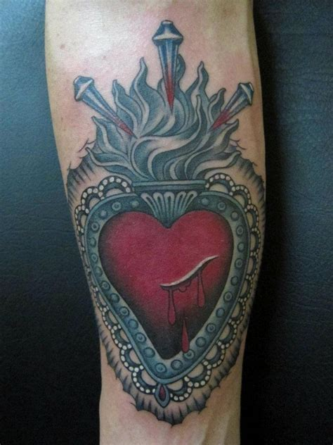 sacred heart tattoo meaning 40 sweet designs and meaning true