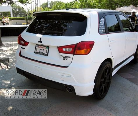 mitsubishi outlander sport off road i m liking this mitsubishi outlander sport customized by