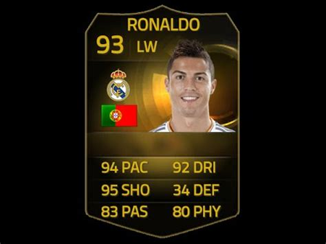 how to get ronaldos hair fifa 15 fifa 15 if ronaldo 93 player review in game stats