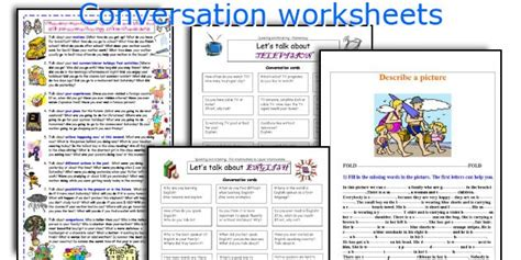 printable english conversation worksheets english teaching worksheets conversation