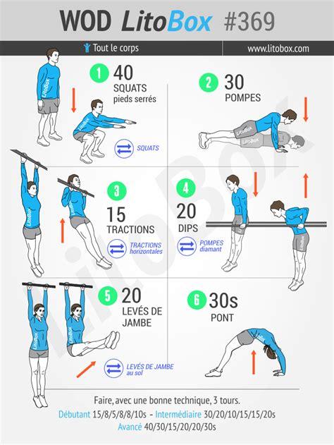 musculation au poids du corps entra 238 nement de base 369
