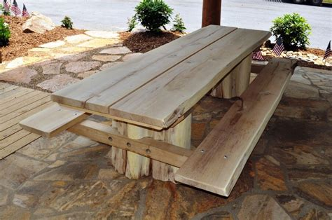 Handmade Patio Table by Outdoor Patio Furniture Nifty Homestead