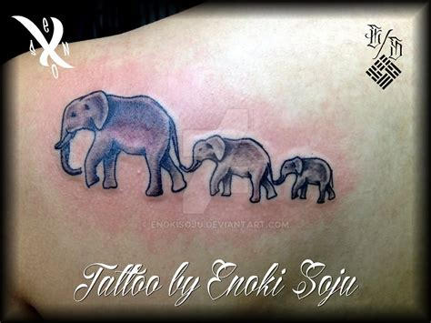 elephant family tattoo 39 elephant family tattoos