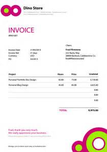 sample invoice template pdf
