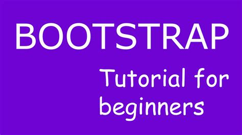 bootstrap tutorial for beginners step by step bootstrap tutorial 4 bootstrap containers