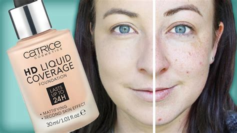 Makeup Catrice catrice hd liquid coverage foundation demo review