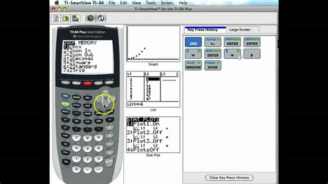 calculator exponential exponential growth with the graphing calculator youtube