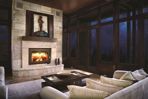 rsf focus 320 wood fireplace sutter home hearth