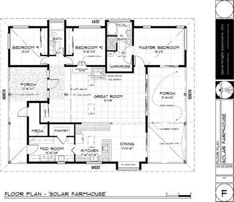 Passive Solar Home Designs Floor Plans | passive solar design basics green homes mother earth news