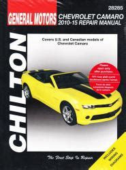 vehicle repair manual 2010 chevrolet camaro head up display 2010 2015 chevrolet camaro chiltons repair manual