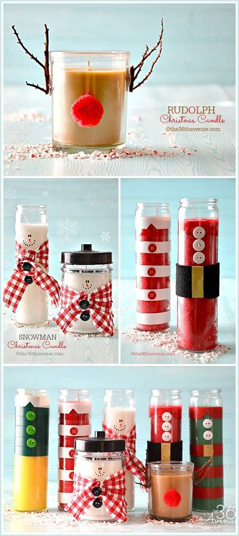 christmas candles diy get in the spirit with these magical 30 diy candle holders projects