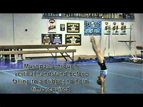 usag level 4 floor routine tutorial flogymnastics