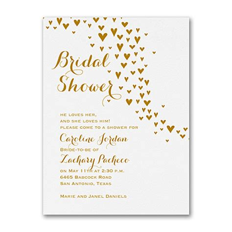 printable invitations at staples all heart bridal shower invitation gt bridal shower