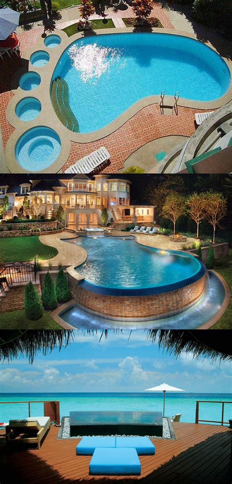 cool backyard pools triyae cool backyard pools various design
