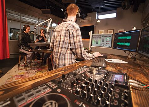 communication arts radio station marywood university mass communication broadcast journalism five towns college