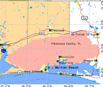 okaloosa county florida detailed profile houses real