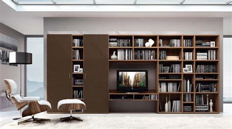 librerie a parete componibili libreria componibile a parete systema p sololibrerie
