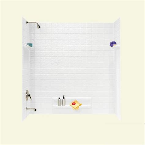 bathtub panel kits swantile ti 5 five panel tub wall kit at menards 174