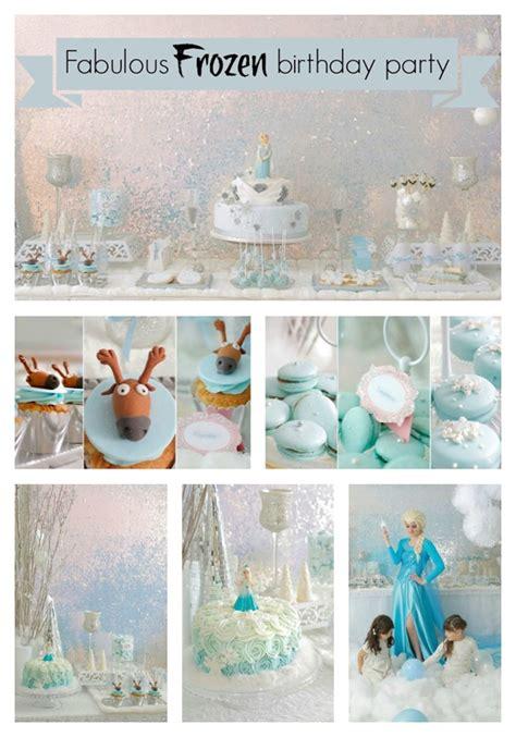Festive Disney Frozen  Ee  Birthday Ee   Party