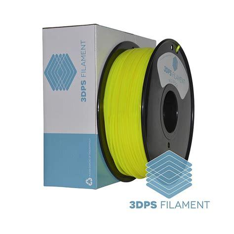 Filament 3d Printer 3dps translucent yellow pla 3d printer filament