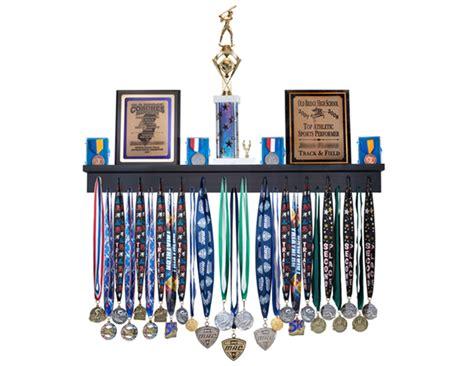 Trophy Display Shelf by 3 Ft Trophy And Award Medal Display Rack Medal Awards Rack