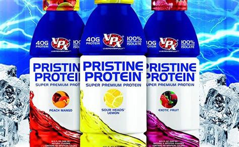 40g carbohydrates pristine protein packing 40g of protein with no carbs or