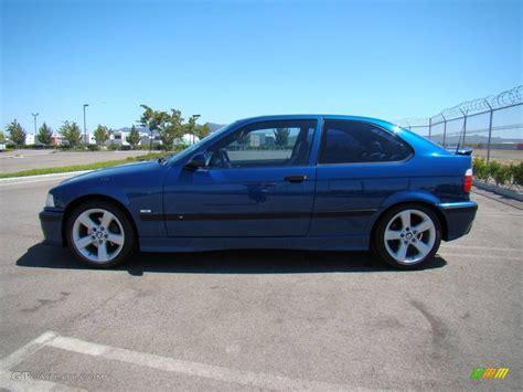 1998 bmw 318ti avus blue pearl 1998 bmw 3 series 318ti coupe exterior