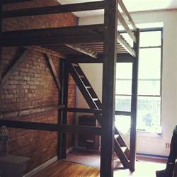 Twin Size Loft Bed Best 25 Elevated Bed Ideas On Pinterest Teen Room