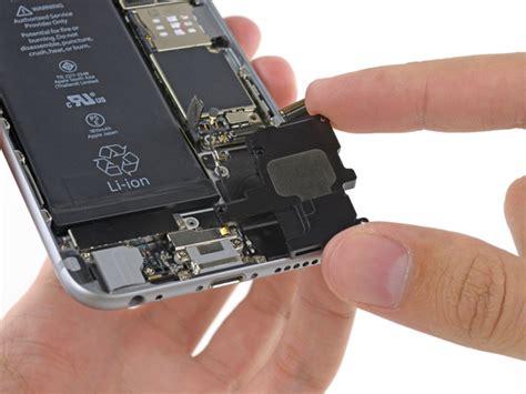 Baterai Log On Power Iphone 6 Plu Kode Df3542 iphone 6 speaker replacement ifixit