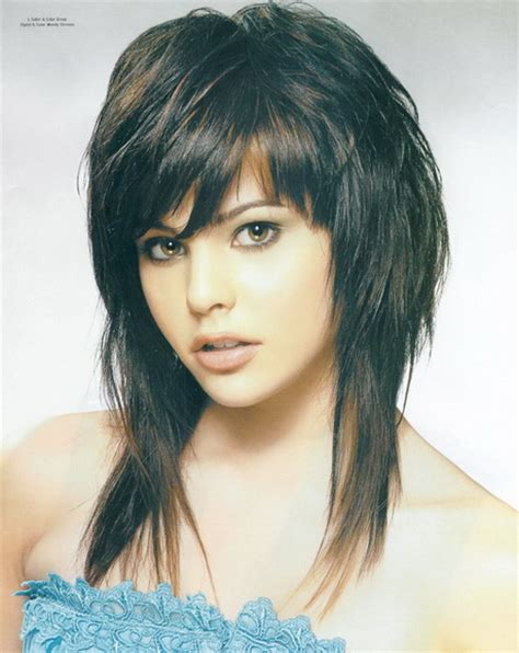 razor cut shag for long hair long shaggy hairstyles for women