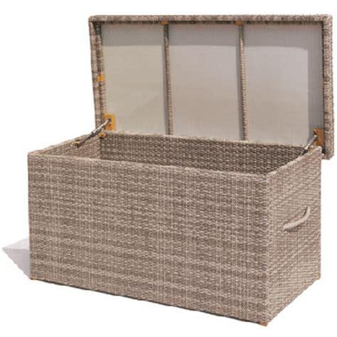 storage chest wicker storage chest patio storage chest