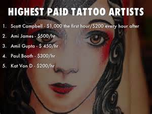 how do tattoo artists get paid makeup artist salary per hour style guru fashion glitz
