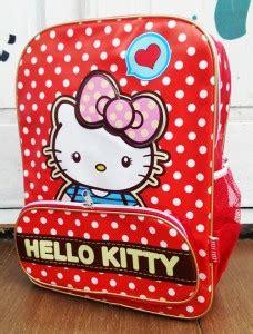 tas ransel tas polkadot merah jual tas sekolah anak tk sd terlengkap grosir tas anak